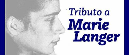 Tributo a Marie Langer